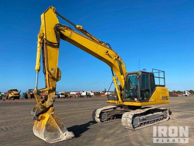 Sumitomo SH210-5 Track Excavator, Hydraulic Excavator