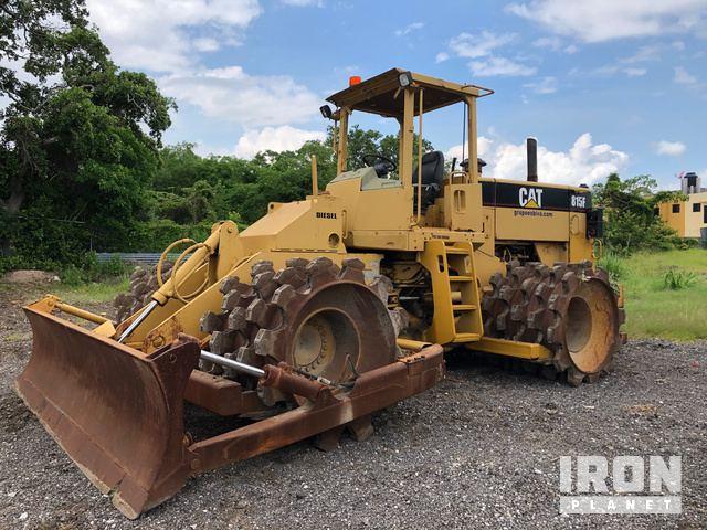 1998 (unverified) Cat 815F Soil Compactor, Compactor