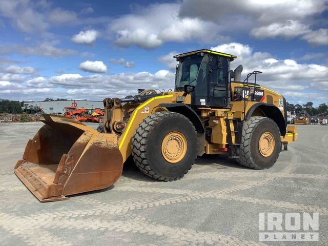 2018 Cat 980M Wheel Loader, Wheel Loader