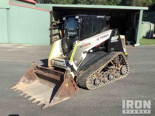2013 Terex PT100G Two-Speed Compact Track Loader, Compact Track Loader