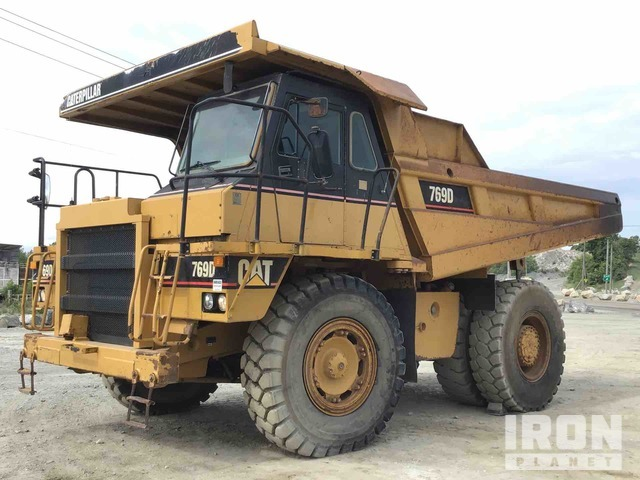 Cat 769D Off-Road End Dump Truck, Rock Truck