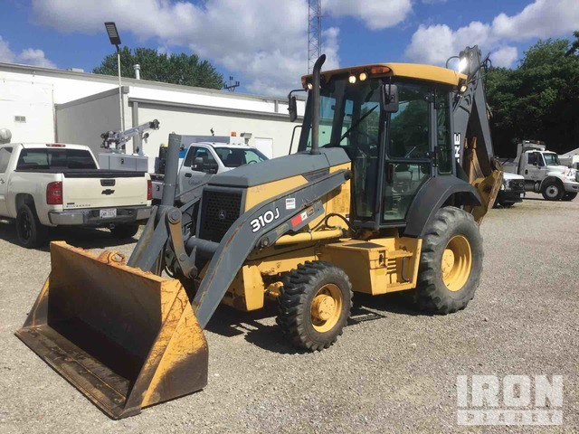 2008 John Deere 310J 4x4 Backhoe Loader, Loader Backhoe