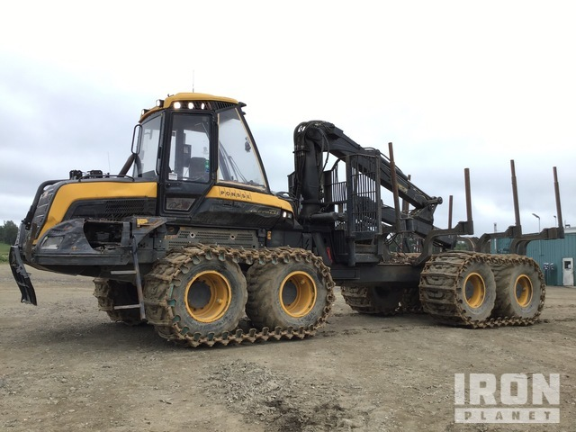 2015 Ponsse Buffalo King Articulated Log Forwarder, Forwarder