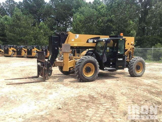 2014 Cat TL1055C 4x4 Telehandler, Telescopic Forklift