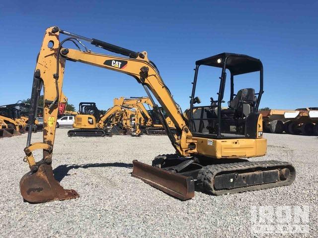 2016 Cat 304E2 CR Mini Excavator, Mini Excavator (1 - 4.9 Tons)