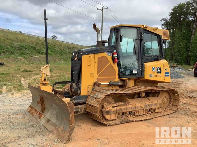 2015 John Deere 650K LGP Crawler Dozer w/TopCon GPS System, Crawler Tractor