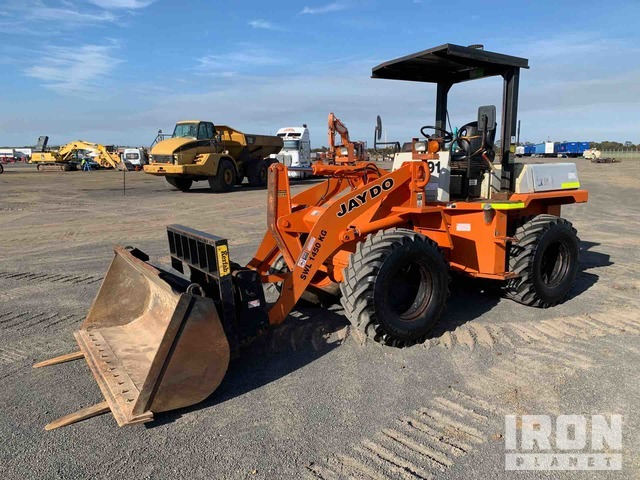 2003 Hitachi LX50 Wheel Loader, Wheel Loader