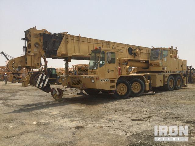 1992 (unverified) Grove TM9120 Hydraulic Truck Crane, Hydraulic Truck Crane