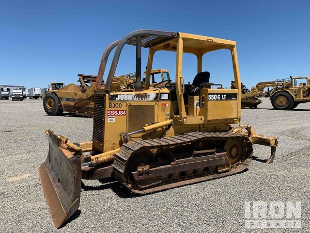 John Deere 550G LT Crawler Dozer, Crawler Tractor