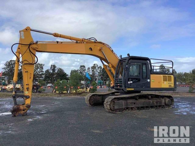 2010 Hyundai Robex 290LC-7A Track Excavator, Hydraulic Excavator
