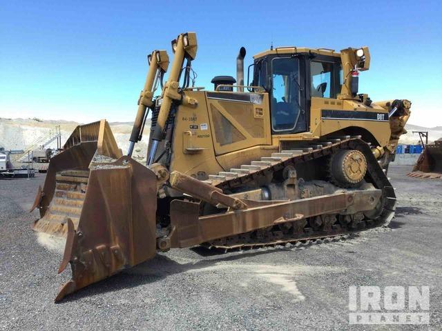 Cat D8T Crawler Dozer, Crawler Tractor