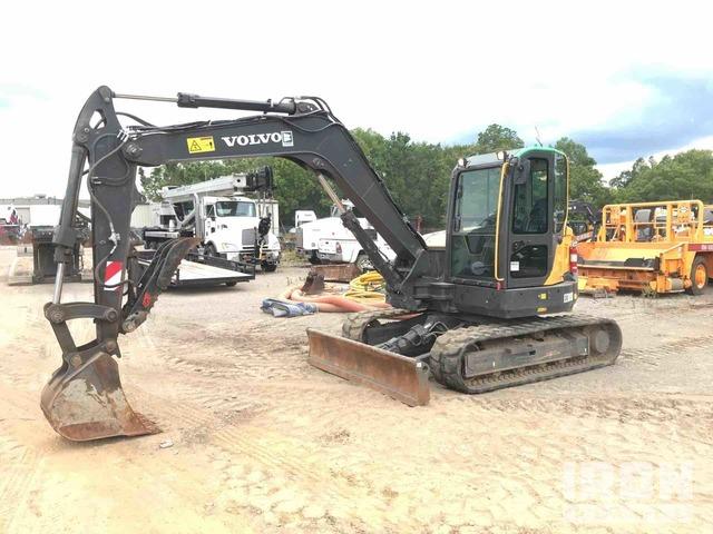2018 Volvo ECR88D Track Excavator, Hydraulic Excavator