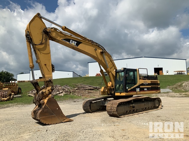 Cat 345BL Series II Track Excavator, Hydraulic Excavator