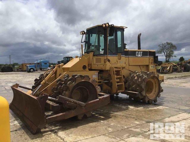 Cat 815F Soil Compactor, Compactor