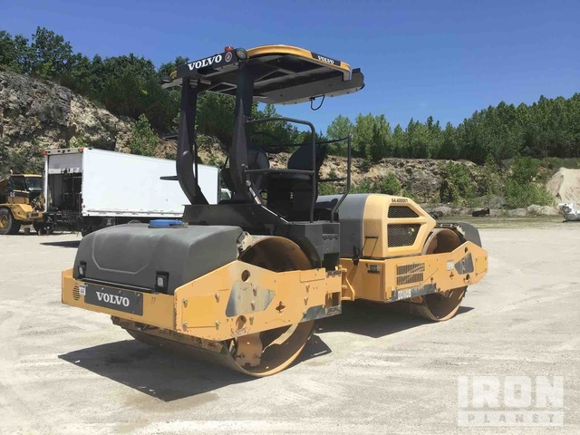 Volvo DD110B Vibratory Double Drum Roller, Roller