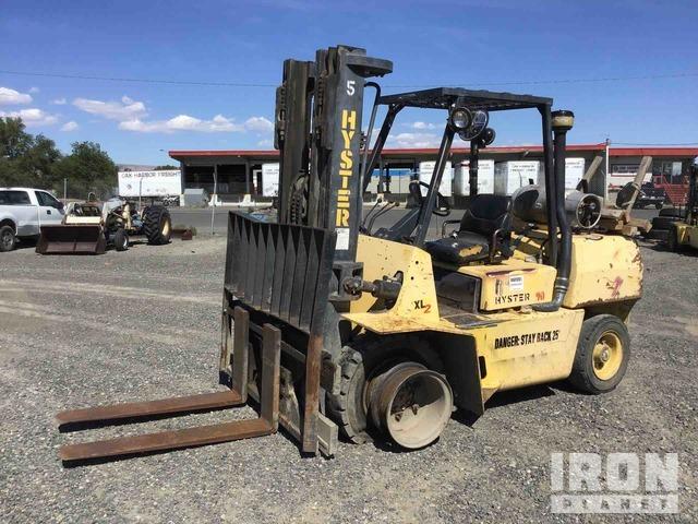 Hyster H90 XLS Pneumatic Tire Forklift, Forklift