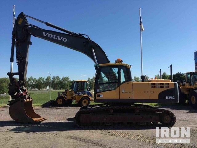 2010 Volvo EC240CL Track Excavator, Hydraulic Excavator