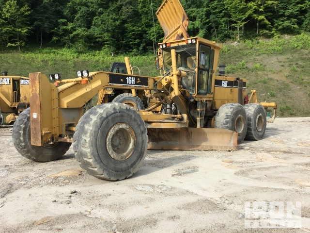 Cat 16H Motor Grader, Parts/Stationary Construction-Other