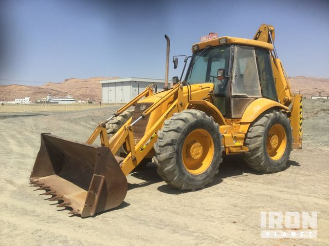 2001 JCB 4CX Backhoe Loader, Loader Backhoe