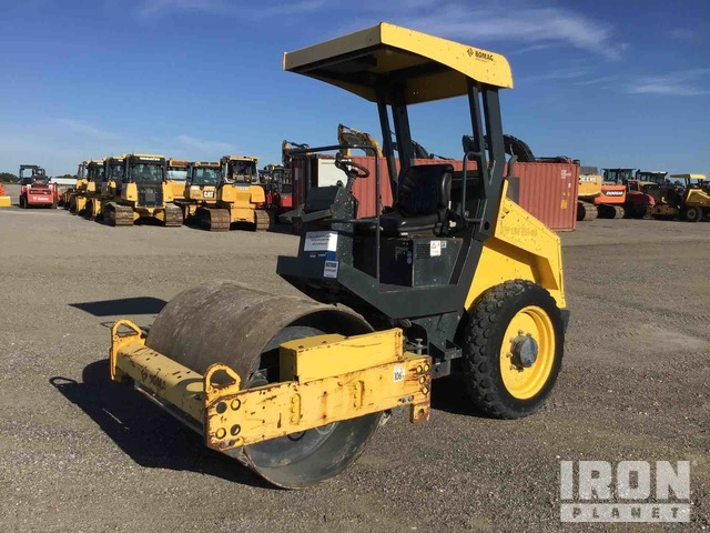 2015 Bomag BW124-DH Vibratory Single Drum Compactor, Vibratory Padfoot Compactor