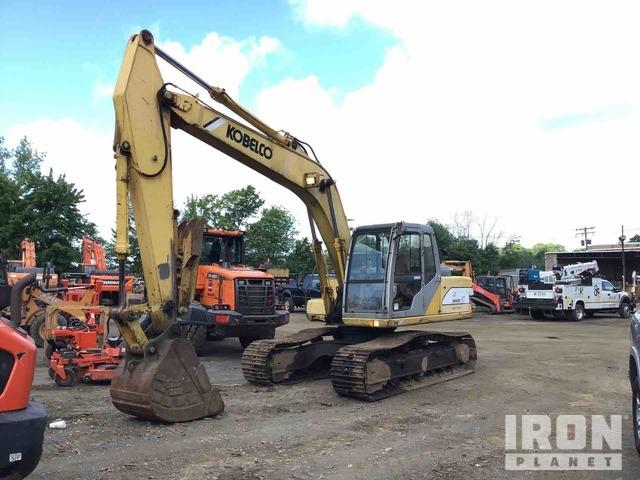 Kobelco SK150LC Track Excavator, Hydraulic Excavator