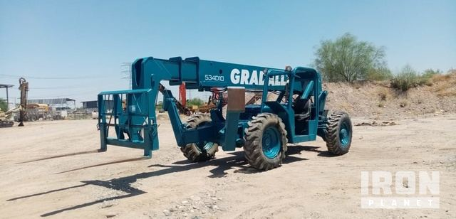 1999 Gradall 534D-10 Telehandler, Telescopic Forklift