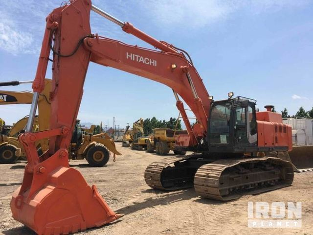 2011 Hitachi ZX450LC-3 Track Excavator, Hydraulic Excavator