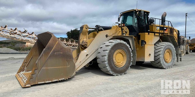 2016 Cat 988K Wheel Loader, Wheel Loader