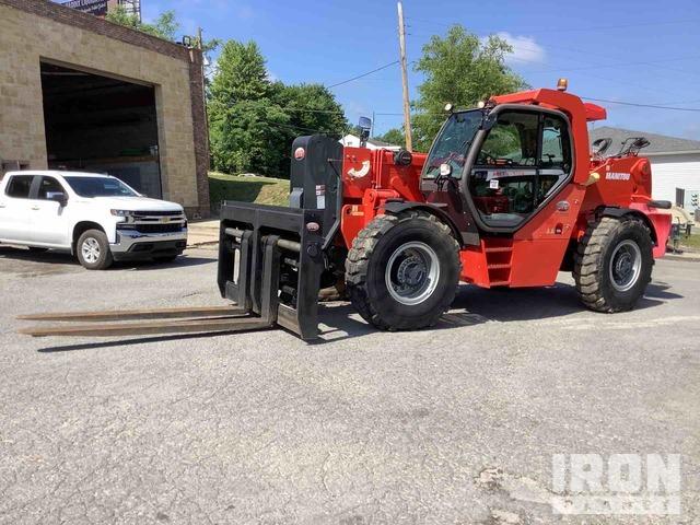 2014 Manitou MHT10180-3B6 4x4 40000 lb Telehandler, Telescopic Forklift