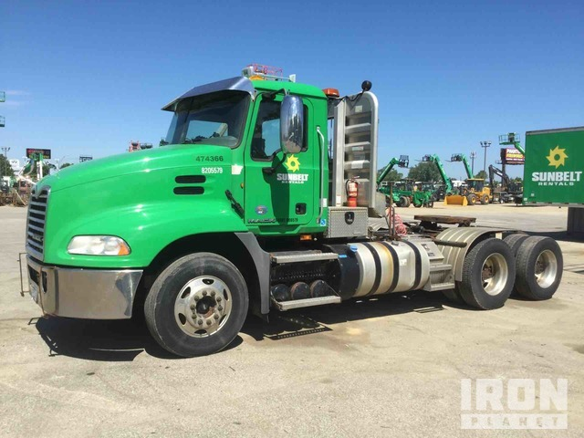 2013 Mack CXU613 6x4 T/A Day Cab Truck Tractor, Truck Tractor (T/A)
