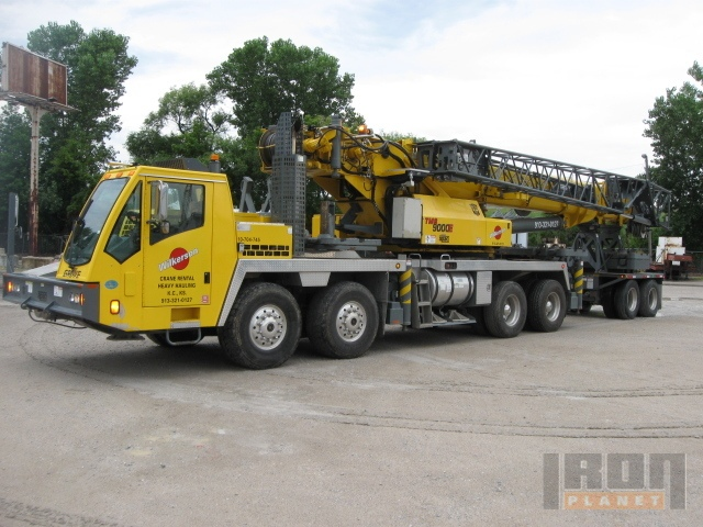 2008 Grove TMS9000E Hydraulic Truck Crane in Kansas City