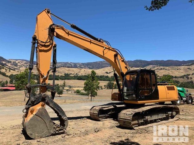 Case CX210 Track Excavator, Hydraulic Excavator