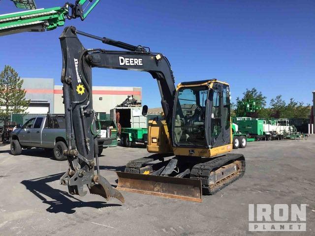2013 John Deere 75D Mini Excavator, Mini Excavator (1 - 4.9 Tons)