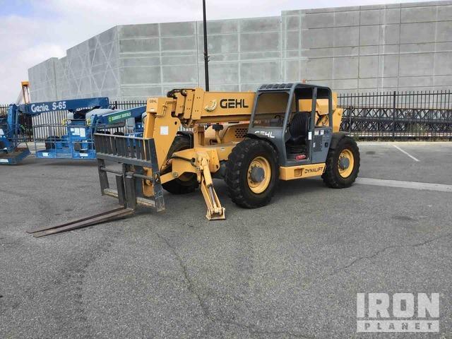 2007 Gehl DL10H55 4x4 10000 lb Telehandler, Telescopic Forklift