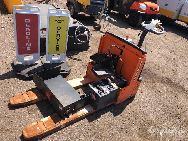 2016 (unverified) Doosan BW23S-7 4500 lb Pallet Jack, Electric Pallet Jack
