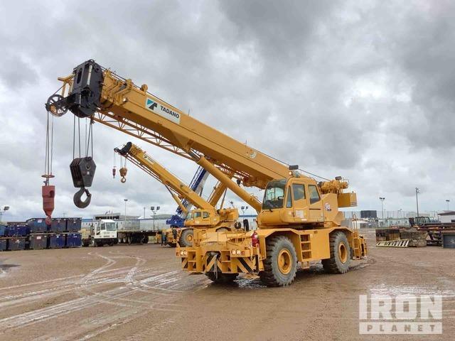 2008 Tadano GR500XL 50 Ton 4x4 Rough Terrain Crane, Rough Terrain Crane