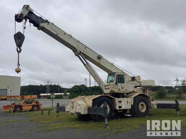 1986 Grove RT745 45 Ton 4x4 Rough Terrain Crane, Parts/Stationary Construction-Other