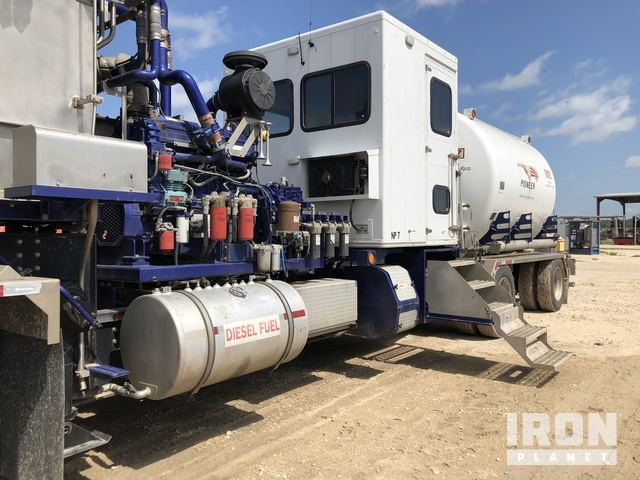 2013 CS&P 180K Nitrogen Unit w/3,300 Gallon Tank, Drilling Equipment - Other