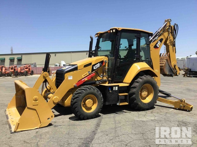 2019 (unverified) Cat 420F2 4x4 Backhoe Loader, Loader Backhoe