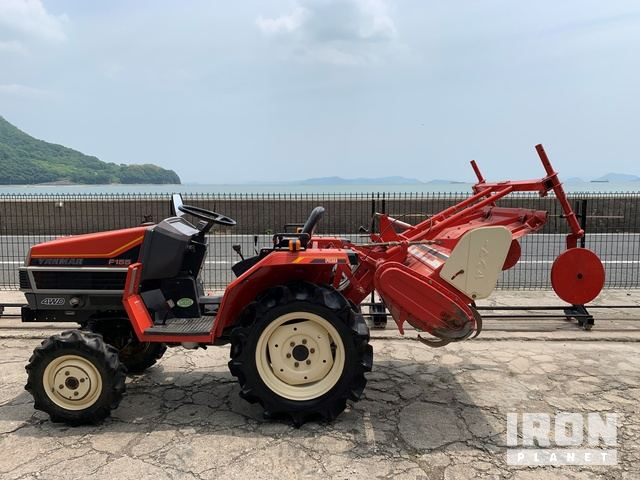 Yanmar F155D 4WD Tractor, MFWD Tractor