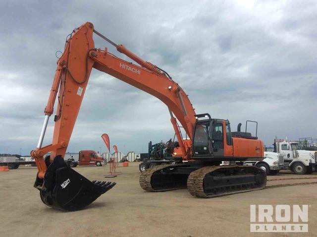 Hitachi ZX450LC Track Excavator, Hydraulic Excavator
