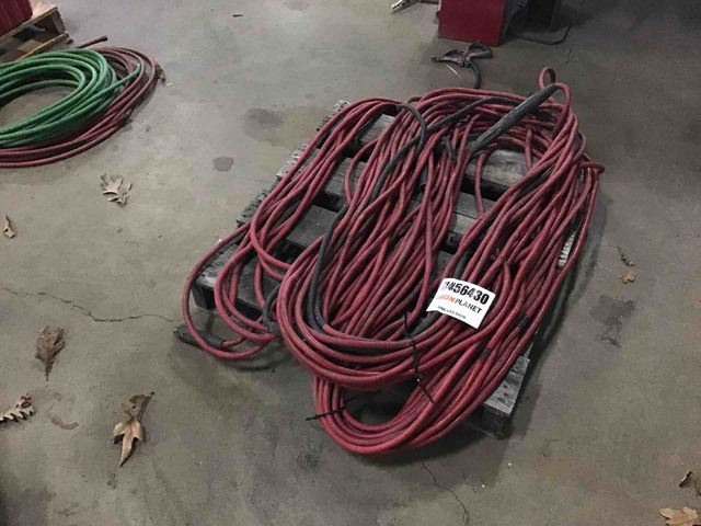 Lot of Welding Leads