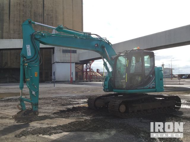 2018 Kobelco SK140SRLC-5 Track Excavator, Hydraulic Excavator