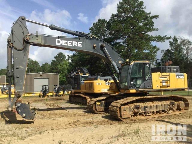 2016 John Deere 470G LC Track Excavator, Hydraulic Excavator