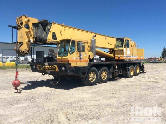 1987 Grove TMS865 65 8x4 Hydraulic Truck Crane, Hydraulic Truck Crane