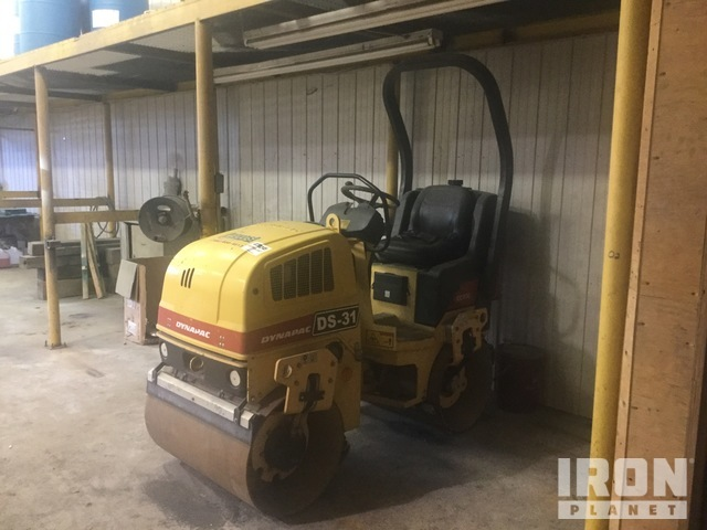 2006 Dynapac CC900 Vibratory Double Drum Roller, Roller