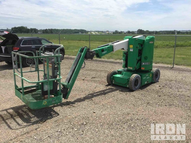 2013 JLG E300AJP Electric Articulating Boom Lift, Boom Lift