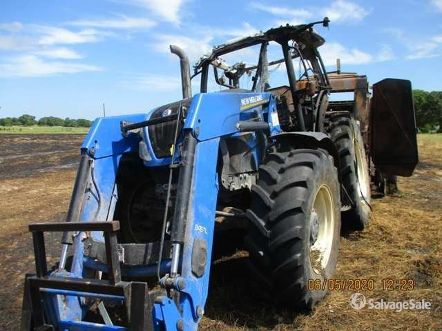 2017 (unverified) New Holland T6.155 4WD Tractor, MFWD Tractor