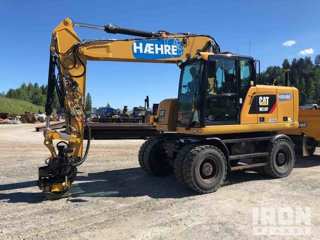 2016 Cat M318F Wheel Excavator, Mobile Excavator