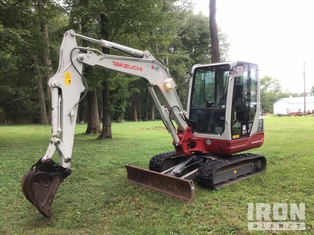 Takeuchi TB235 Mini Excavator, Mini Excavator (1 - 4.9 Tons)